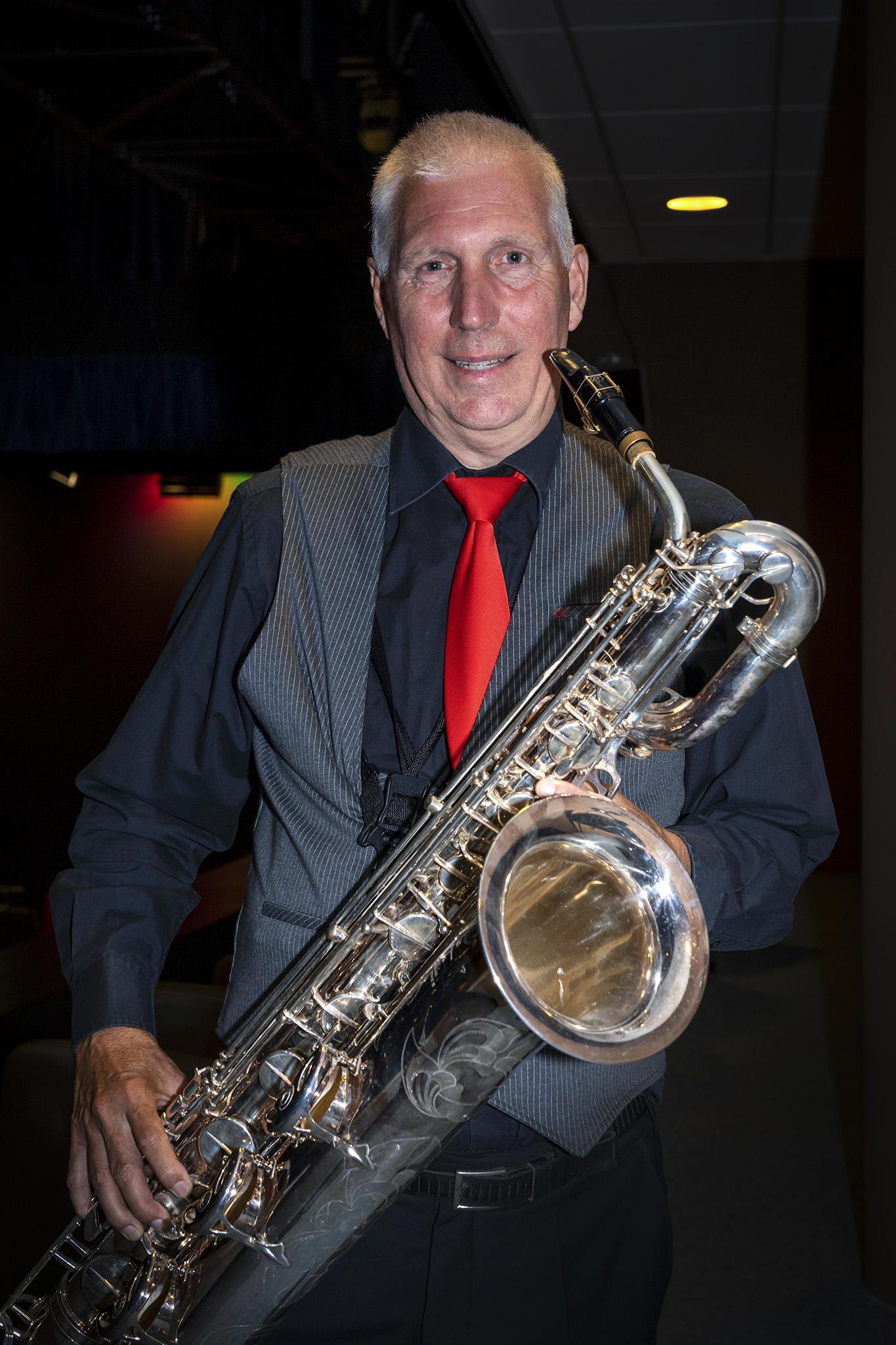 Frank van Bergen Bariton Sax